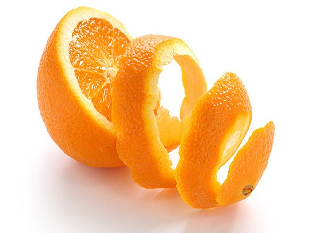 cách khử mùi hôi trong phòng kín bằng vỏ cam quýt